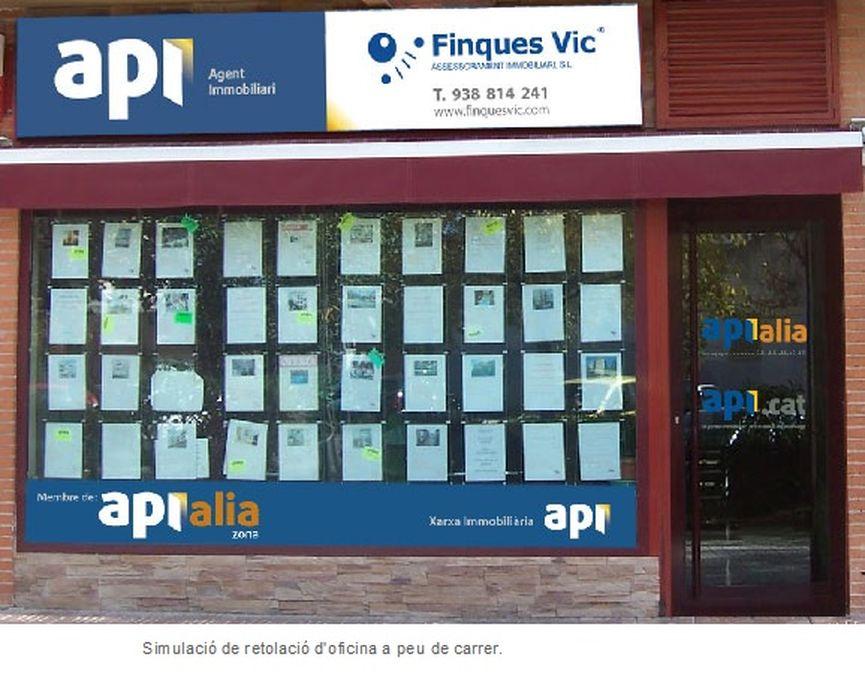 Api marca i renovaci retolaci d 39 oficina for Oficina de treball renovacio